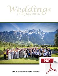 Get Your Free Big Sky Wedding Guide