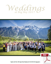 2017 Wedding Package