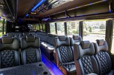 Luxury transportation to Big Sky Golf Club