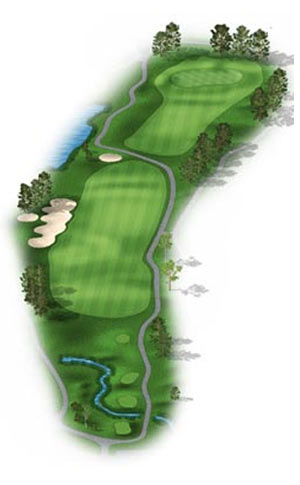 Hole 10 at Big Sky Golf Club