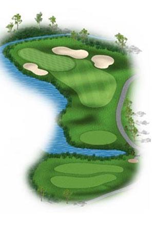 Hole 11 at Big Sky Golf Club