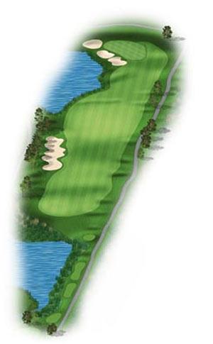 Hole 14 at Big Sky Golf Club