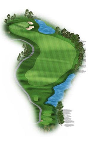 Hole 15 at Big Sky Golf Club
