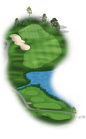 Hole 17 at Big Sky Golf Club
