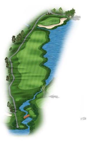 Hole 18 at Big Sky Golf Club