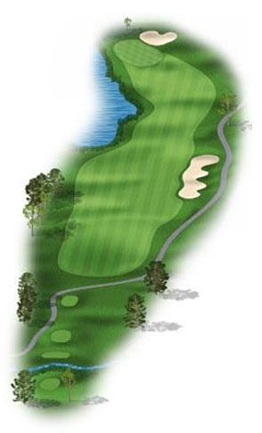 Hole 2 at Big Sky Golf Club