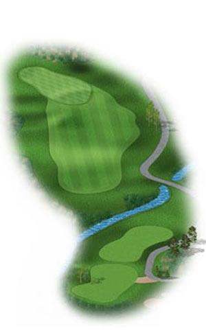 Hole 3 at Big Sky Golf Club