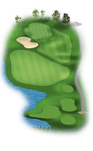 Hole 5 at Big Sky Golf Club