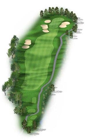 Hole 6 at Big Sky Golf Club