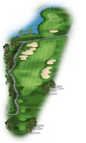 Hole 8 at Big Sky Golf Club