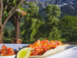 Tacos at Fescues Restaurant Pemberton BC