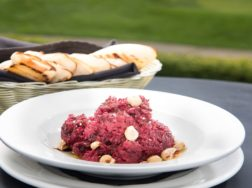 Farm Fresh Beet Dip at Fescues Restaurant