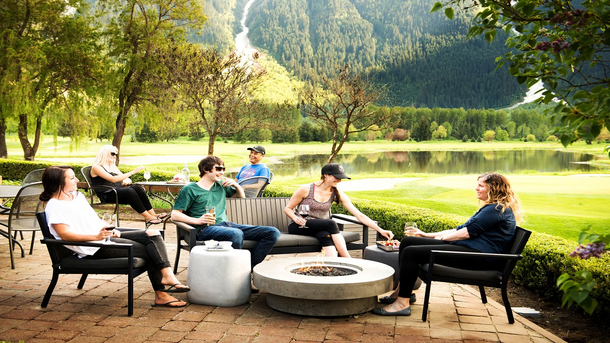 Best Patio in Whistler & Pemberton at Fescues Restaurant