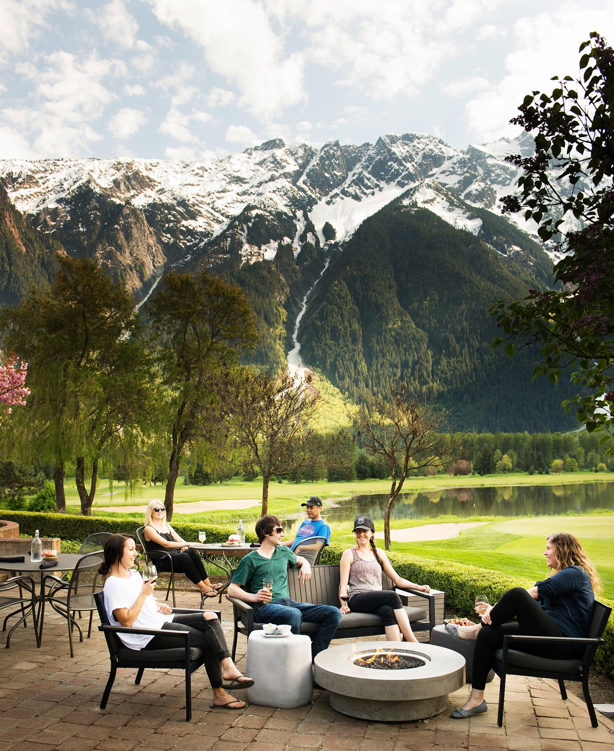 Whistler & Pemberton's Best Patio at Fescues Restaurant