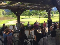 Paint N Sip Classes at Big Sky