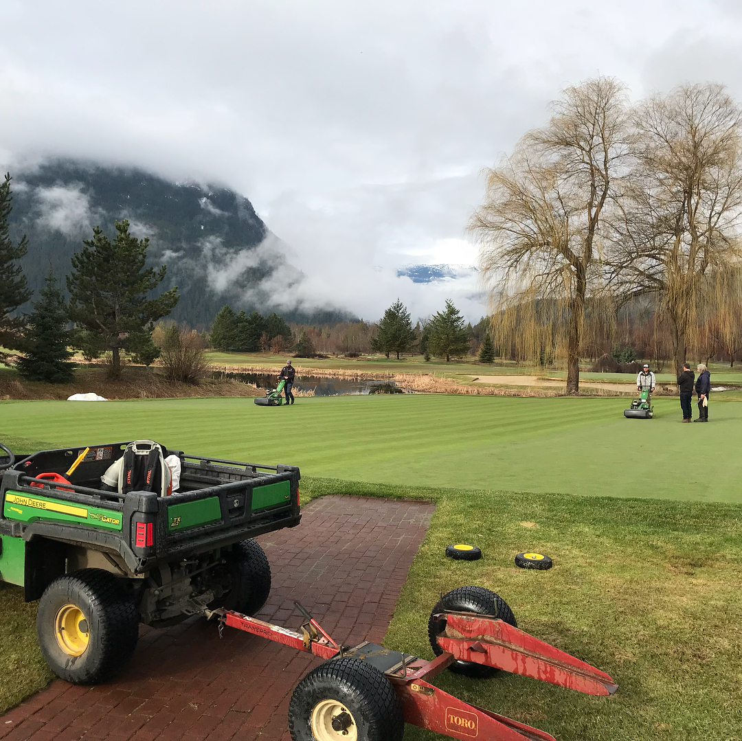 Update on 2018 Big Sky Golf Course Conditions