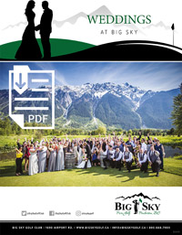 Big Sky Wedding Guide
