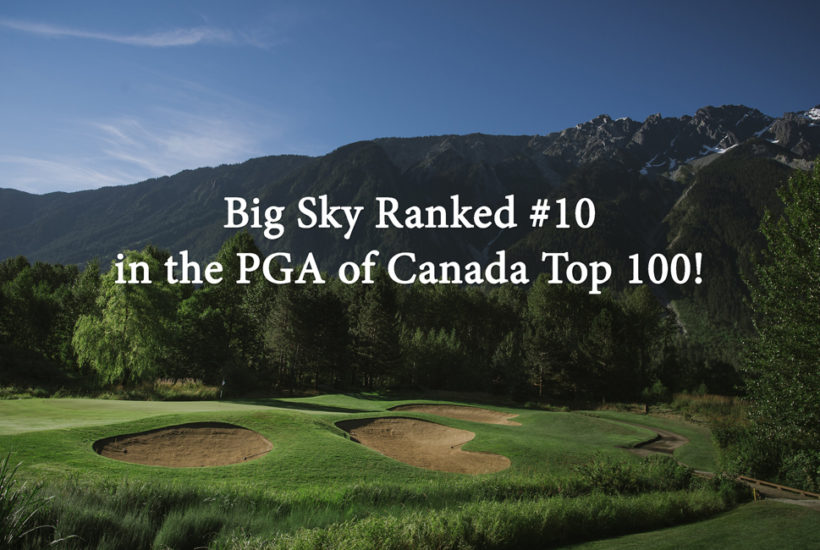 Big Sky Top 10 Golf Course in Canada